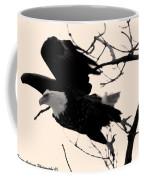 Eagles Along The Mississippi Coffee Mug