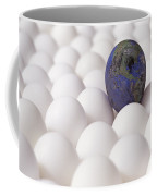 Earth Egg Pollution Coffee Mug