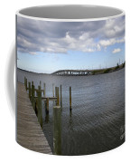 Eau Gallie Causeway Over The Indian River Lagoon At Melbourne Fl Coffee Mug