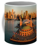 Elevated View Of The Navy Pier Coffee Mug