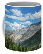 Elevated View Of Trees On Landscape Coffee Mug