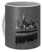 Empire State Building Dressed Up In Pastels Coffee Mug