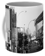 End Of The Line In Black And White Coffee Mug