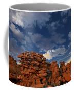 Eroded Sandstone Formations Fantasy Canyon Utah Coffee Mug