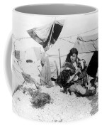 Eskimo Woman And Child Coffee Mug