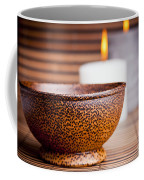 Exotic Bowl And Candles Coffee Mug