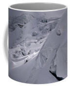 Extreme Skier Going Fast In Beautiful Coffee Mug