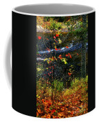 Fall Forest And River Coffee Mug
