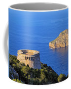Famous Tower Of Savinar On Ibiza Island Coffee Mug