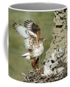 Ferruginous Hawk And Chicks Coffee Mug