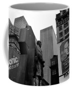 Film Homage The Fighting 69th 1940 Fr. Duffy Statue Yul Brynner Palace Theater New York 1977 Coffee Mug