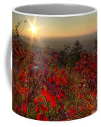 Fire On The Mountain Coffee Mug by Debra and Dave Vanderlaan