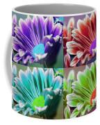 Firmenish Bicolor Pop Art Shades Coffee Mug