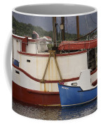 2 Fishing Boats At The Dock Coffee Mug