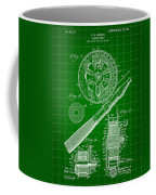 Fishing Reel Patent 1906 - Green Coffee Mug
