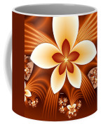 Fractal Fantasy Flowers Coffee Mug