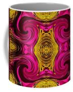 Fuchsia Sensation Abstract Coffee Mug