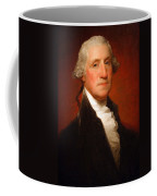 George Washington By Gilbert Stuart -- 2 Coffee Mug