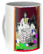 Geronimo's Wife Ta-ayz-slath And Child Unknown Date Collage 2012 Coffee Mug