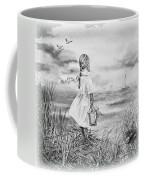 Girl And The Ocean Coffee Mug