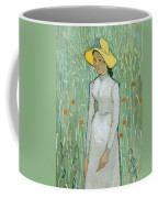 Girl In White Coffee Mug