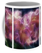 Gladiola Nebula Triptych Coffee Mug