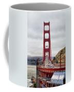 Golden Gate Bridge - San Francisco California Coffee Mug
