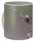 Goldenrod Crab Spider Male  Coffee Mug