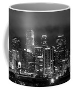 Gotham City - Los Angeles Skyline Downtown At Night Coffee Mug