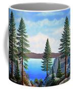 Granite Boulders Lake Tahoe Coffee Mug