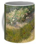 Grass And Butterflies Coffee Mug