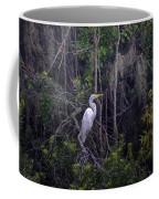 Lowcountry Marsh White Heron Coffee Mug