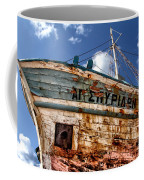 Greek Fishing Boat Coffee Mug