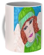 Green Hat  Coffee Mug