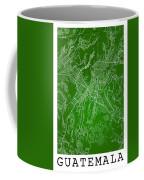 Guatemala Street Map - Guatemala City Guatemala Road Map Art On  Coffee Mug