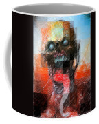 Halloween Mask Coffee Mug