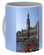 Hamburg - City Hall With Fleet - Germany Coffee Mug