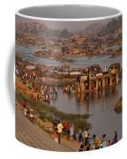Hampi Ghats Coffee Mug