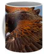Harris Hawk Approach Coffee Mug