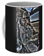 Hdr Image Of A Pilot Equipped Coffee Mug
