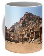 Hindu Ruins At Hampi Coffee Mug