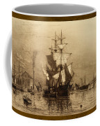 Historic Seaport Schooner Coffee Mug