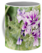 Hollyhocks Coffee Mug