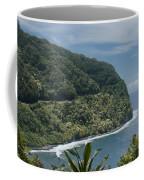 Honomanu - Highway To Heaven - Road To Hana Maui Hawaii Coffee Mug