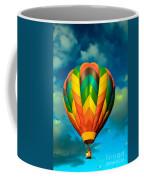 Hot Air Balloon Coffee Mug by Robert Bales
