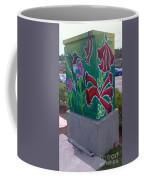 Hummingbird Traffic Signal Box Coffee Mug