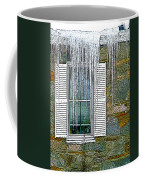 Ice By The Window Coffee Mug
