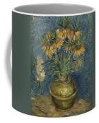 Imperial Fritillaries In A Copper Vase Coffee Mug