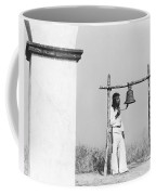 Indians Building Missions Coffee Mug