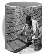 Indians Making Adobe Bricks Coffee Mug
